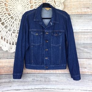 Vintage | Rustler Dark Wash Denim Jean Jacket
